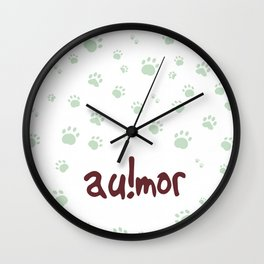 AU!MOR Wall Clock