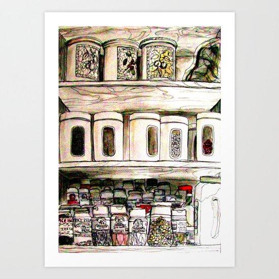 Aromas Art Print