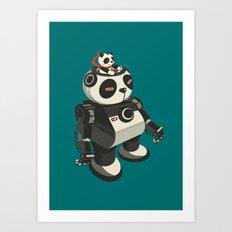 Mecha-Panda Art Print