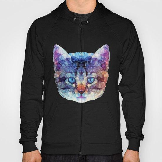 abstract kitten Hoody