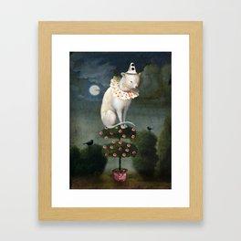 Harlekin Cat Framed Art Print
