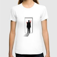 fargo T-shirts featuring See you later, Lester by Fresco Umbiatore