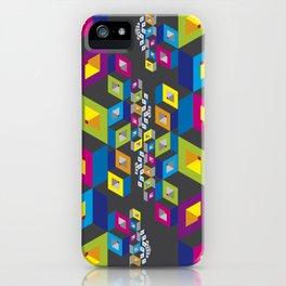 Socialization Colors iPhone Case