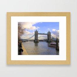 Tower Bridge #1 Framed Art Print