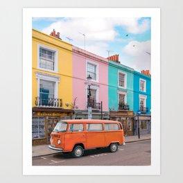 Portobello Road Art Print