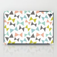 bows iPad Cases featuring Spring bows by Demi Goutte