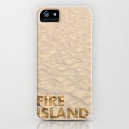 FIRE ISLAND iPhone Case