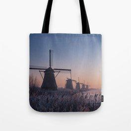 Sunrise at Kinderdijk II Tote Bag