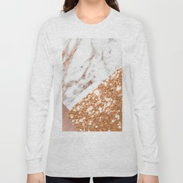Layers of rose gold Long Sleeve T-shirt