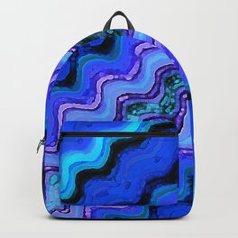Blue Tranquil Waves Backpack