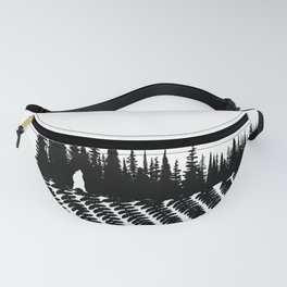 Forest Fern Fanny Pack