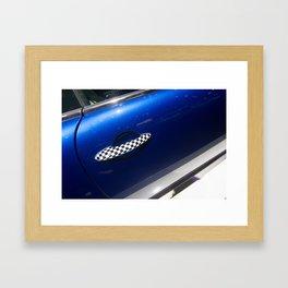 BMW Mini Coupé S Door Framed Art Print