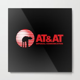 AT&AT Communication Metal Print