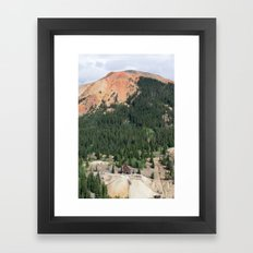 Red Mountain Mining District Framed Art Print