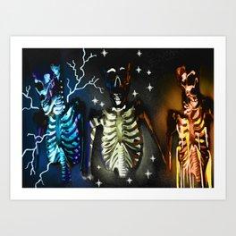 Inner Lights Art Print