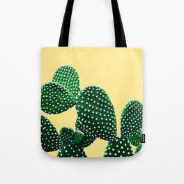 Prickly Plant ( yellow ) Tote Bag