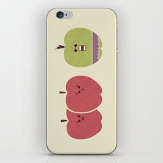 Green Apples Are Always Angry iPhone & iPod Skin