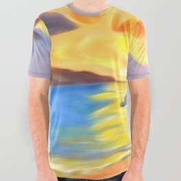 Trade Wind Island All Over Graphic Tee