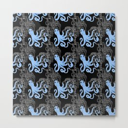 Octopipes Metal Print