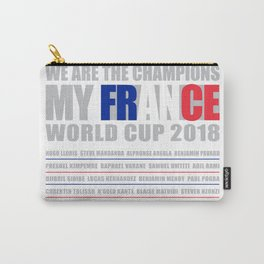 WORLD CUP 2018 FRANCE champion Carry-All Pouch