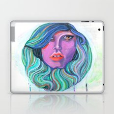 Pretty Oceanic Ombre Face Laptop & iPad Skin