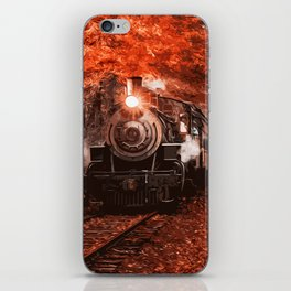 Old Steam locomotive iPhone Skin