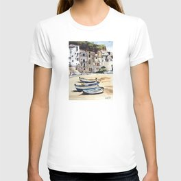 Italian Fishing Village T-shirt