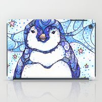 penguin iPad Cases featuring Penguin by Kate Fitzpatrick