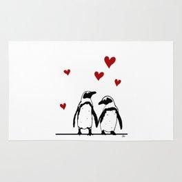 Love Penguins Rug