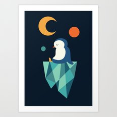 Private Corner Art Print