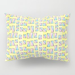 rectangle and abstraction-mutlicolor,abstraction,abstract,fun,rectangle,square,rectangled,geometric, Pillow Sham