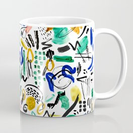 BRUSHSTROKES ART Coffee Mug