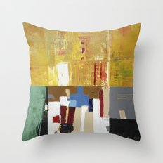 Formality Colorful Modern Art Painting Throw Pillow