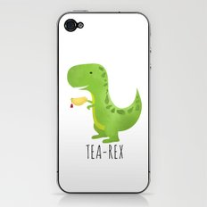 Tea-Rex iPhone & iPod Skin