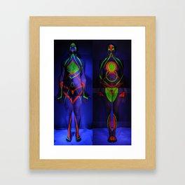 Adam & Eve, 2011 Framed Art Print