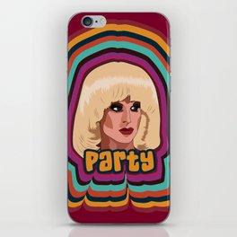 Katya Zamolodchikova - Party iPhone Skin