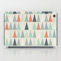 triangles iPad Cases featuring Triangles by Dizzy Moments