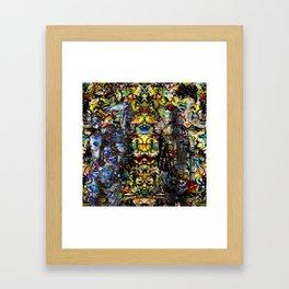 Temple of God Framed Art Print