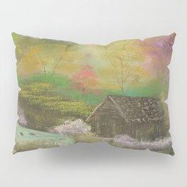 Deep Forest Cabin Pillow Sham