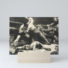 George Bellows - A Knock-Out, 1921 Mini Art Print