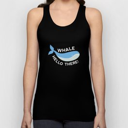 Whale Hello There! Unisex Tank Top