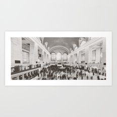 Grand Central Ants Art Print