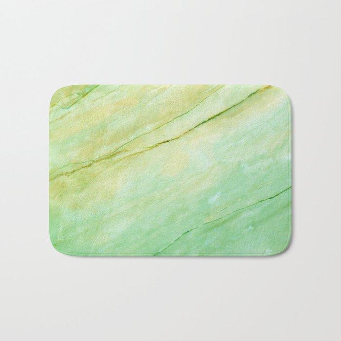 Light green marble Bath Mat