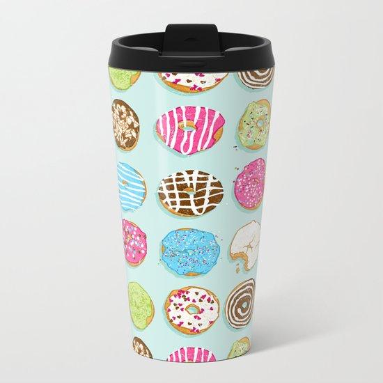 Sweet donuts Metal Travel Mug