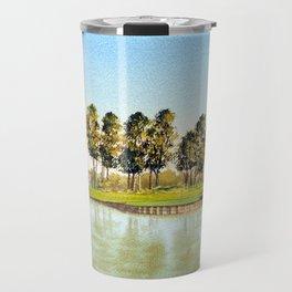 Sawgrass TPC Golf Course 17th Hole Travel Mug