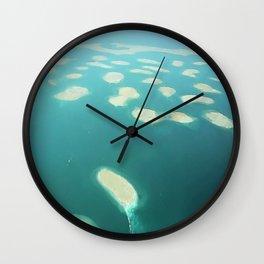 "Dubai - Island Group ""The World"" Wall Clock"