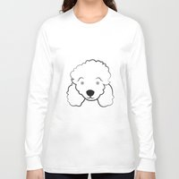 poodle Long Sleeve T-shirts featuring Poodle by anabelledubois