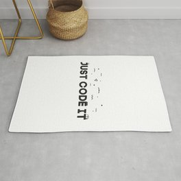 Just code it design - programming Rug