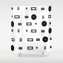 Media Shower Curtain