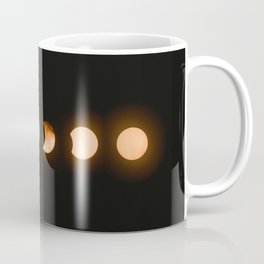 moon phases bright moon crescent moon astronomy night sky solar eclipse magic wicca lunar calendar Coffee Mug